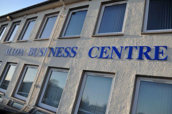 Alloa Business Centre closeup