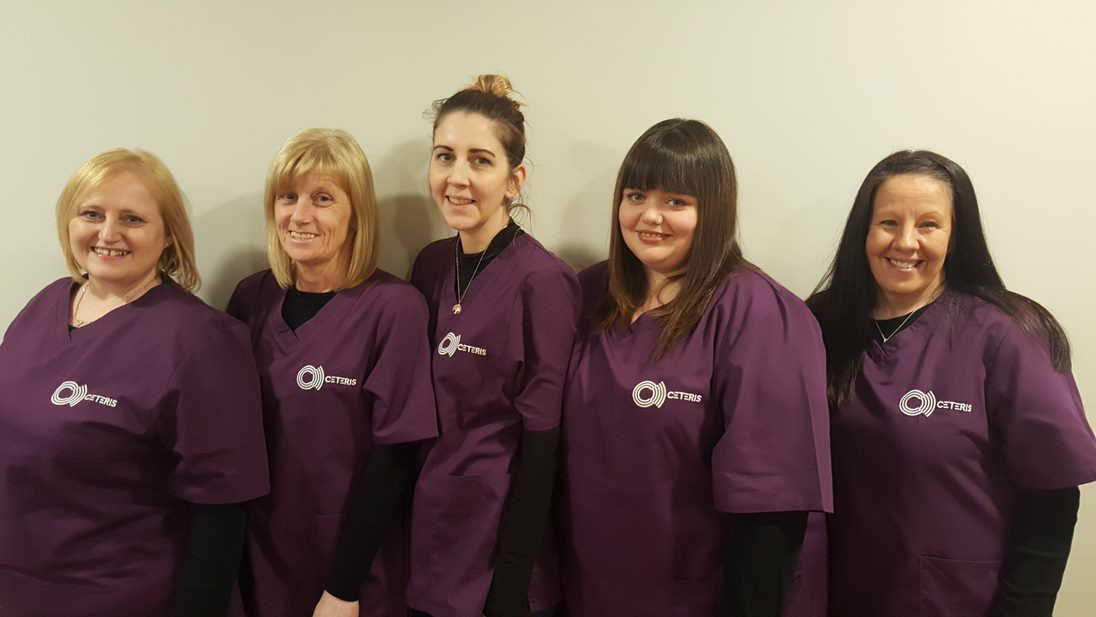 The ceteris cleaning team in charge of making sure our offices are clean and ready for our tenants everyday of the week