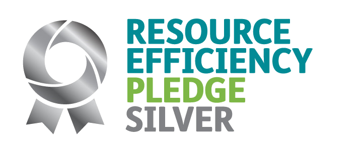 Resources Efficiency Pledge Silver award awarded to ceteris