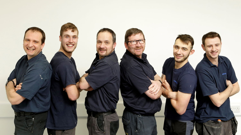 The Ceteris Maintenance Team Photo