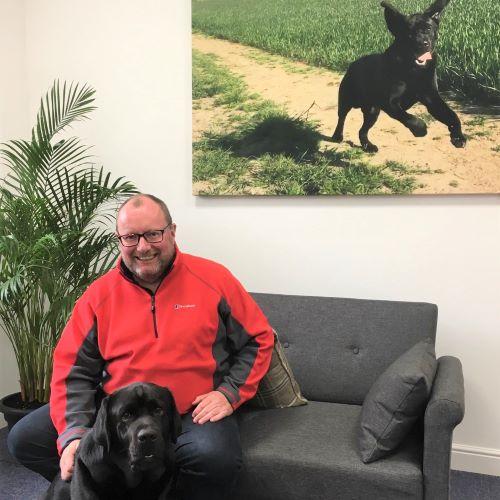 David Glen & Dog